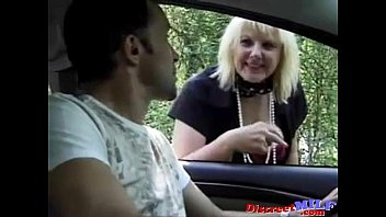 Hooker Fucked Outdoors by Two Horny Guys