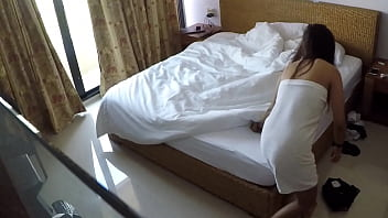 Hidden cam in Hotel room with hooker