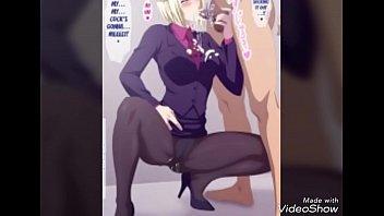 Tokyo Ghoul Hentai chupando pau duro e fodendo muito