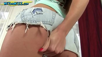 Hot Girl Strips down to play