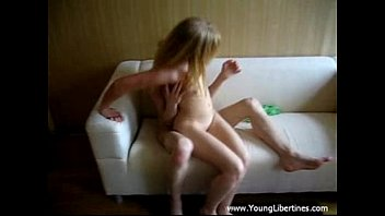 Tiny young sister fucked