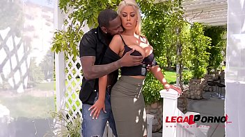 Busty Blonde Babe Bridgette B. Fucked Balls Deep By Huge Black Cock GP058