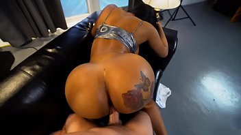 Hot black milf with a huge ass gets fucked REAL hard