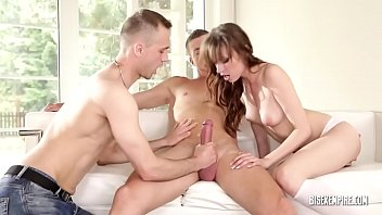 Bisex MMF Threesome with a Skinny Girl