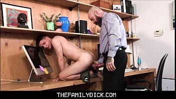 Twink Stepson Dylan Hayes Family Sex With Big Dick Stepdad Jack Dixon At His Work