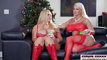 ConorCoxxx- Big xmas gift with Alura Jenson and Karen Fisher - 69VClub.Com