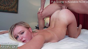 18 year old Picked Up and Fucked Natalia Queen