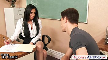 Young pantyhose sluts in heels - Busty sex teacher jaclyn taylor gets banged in classroom