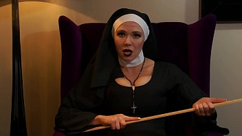 The stiff penis Cruel nun humiliates your tiny penis sph roleplay
