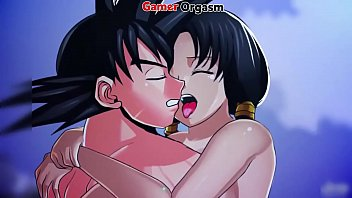 Goku and Videl Fucking Outdoors - GamerOrgasm.com