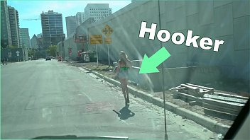 BANGBROS - The Bang Bus Picks Up A Hooker Named Victoria Gracen On The Streets Of Miami