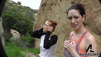 Hottest Hiking 3some! Alex Legend Fucks Sarah Shevon &amp_ Penny Pax!