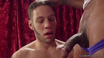 Ebony tranny lap dancer anal fucks dude pornhub video