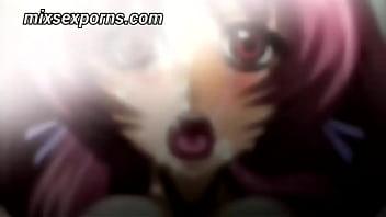Kazama Mana hentai teen girl