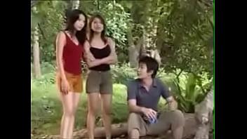 Thai Soft And Hard Threesome