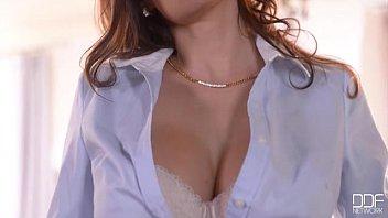 Satin tease man sucked - Super sex goddess will make you cum hard