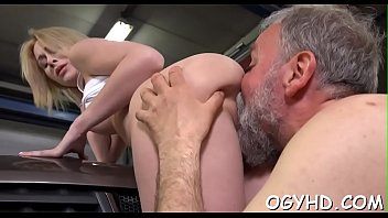 Hot old pussy tube Youthful nympho licks old ding-dong