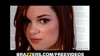 Beautiful brunette teen Jenna Ross gets a sensual massage