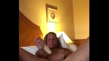 Blonde Milf Pleasuring Her Pussy In Front Of Boyfriend