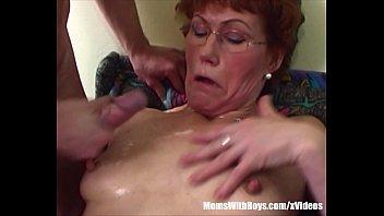 Jama reed porn Redhead stepma breasts cum showered