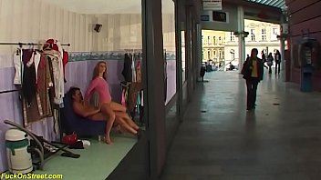 brutal public anal at the shopping mall