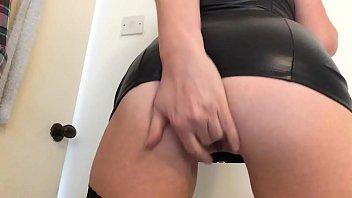 Cumming hard in my new sexy black dress