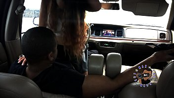 RAINY DAY CAR HEAD AND SEX WITH SLIM THICK LATINA ALMOST CAUGHT PART 1