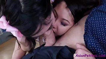Asian Sisters Fuck Naughty American- Eva Yi And Jade Luv