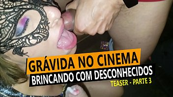 Hardcore sex with stranger at the Cine Kratos, Gangbang - Cristina Almeida at the Sex Theater
