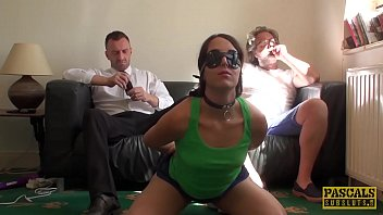 PASCALSSUBSLUTS - Amazing Liz Rainbow Pussy Punished by Daddy