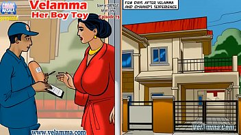 Adult comic book store - Velamma episode 73 - her boy toy