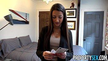 PropertySex - Hot body real estate agent fucks renter