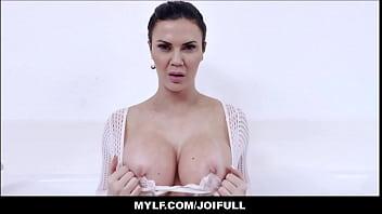 Free porn jerk instruction Your big tits milf stepmom jasmine jae orgasms with you in the bath tub joi pov