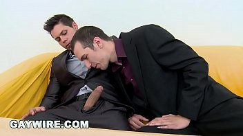 GAYWIRE - Bareback Casting Gay Orgy With 4 Beautiful Men