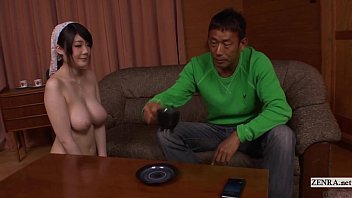 Subtitled Irate Man Directs Nudist Japanese Maid Uncensored
