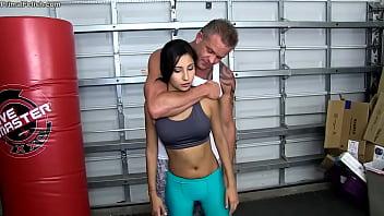 Daddy Teaches Jade Self Defense