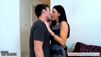 Naughty wives being spanked Stockinged india summer gets facialized