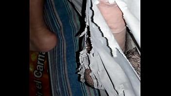 Short roto de mecánico chacal