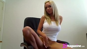 Busty Blonde Brittany Gets Her Big Beautiful Tits Out On Cam