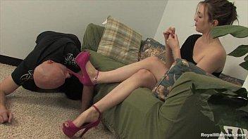 Mistress Megan - Femdom Foot Worship