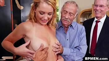 Old guy porn - Raylin ann gets gangbaged by old men