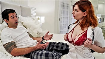 Big titted nurse gives him viagra by mistake - w/ Annabel Redd