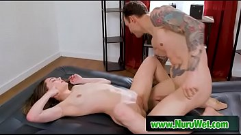 Alex Legend & Aften Opal - Fucking nuru massage