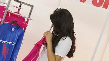 Threesome with shopgirl