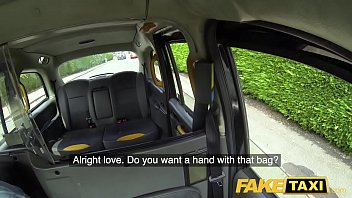 Fake Taxi Titwank rimjob hard sex & creampie for Brit babe Georgie Lyall thumbnail
