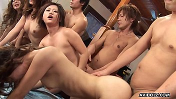 Dudes what the fuck - Almost a gang bang brakes out as the sluts get drilled