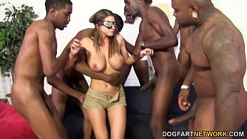 Marina Visconti Interracial DP with Black Cocks