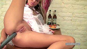 blonde hottie anna fucks her ass tube072713