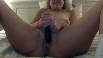 Milf Stepmom Fantasizes about Stepsons Young Cock Fucks Her Dildo Mature Then Fucks Daddy Big Cumshot