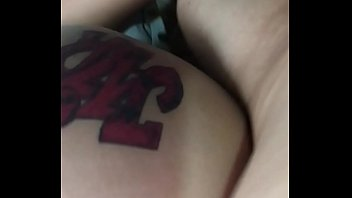 Doggystyle tattoed Mexican wife